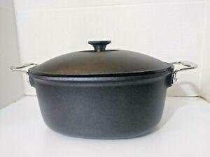 All Clad 6.5 Quart Cast Aluminum Dutch Oven Cookware Nonstick Thanksgiving NEW