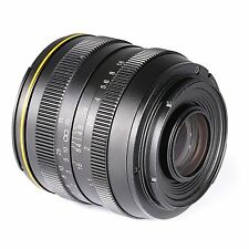 kamlan 50mm F1.1 APS-C Large Aperture Manual Focus Lens for Canon N1 Mount