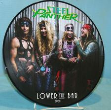 Steel Panther~Lower the Bar~2017 Kobalt Music Vinyl LP~Picture Disc SP001VL2PD