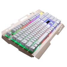 Sans Fil Clavier USB QWERTY LED Rétroéclairage Pour Ordinateur Portable