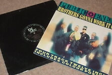 Public Enemy ‎– Brothers Gonna Work It Out   1990   INCLUDES POSTER!!