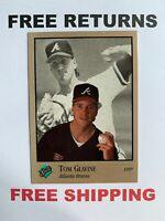 1992 Studio Base Card #4 Tom Glavine Atlanta Braves MLB HOF