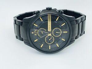 Armani Exchange Hampton AX2164 Chronograph Black Dial Men's Watch (197E)