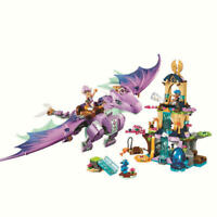 Fairy Elves The Dragon Sanctuary Building Blocks Sets Gift Toy Compatible Lego