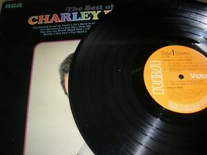 The Best Of Charley Pride Vinyl Album 1970 RCA Victor SF 8120 Let The Chips Fall