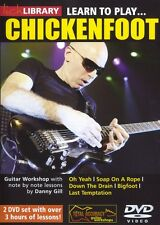 Lick Library LEARN TO PLAY Joe Satriani's CHICKENFOOT Guitar Lessons Video 2-DVD