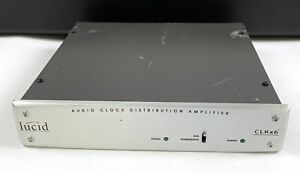 Lucid CLKx6 Audio Clock Distribution Amplifier Used w/ 3 cables