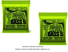 Ernie Ball 2836 Regular Slinky Set basso 5 Corde