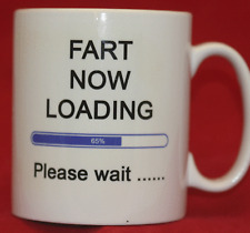 Fart Now Loading - Personalised Mug / Cup