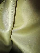 """2.5 metri d'oro misto viscosa vestito ITALIANA fodera in tessuto. Largo 60"""","""