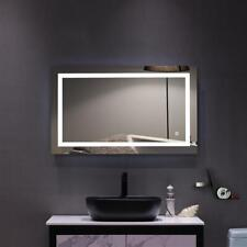 "40"" x 24"" Led Bathroom Wall Mirror Illuminated Light Lamp Anti Fog Touch Sensor"