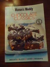 Womens Weekly mini cookbook CHOCOLATE CLASSICS EUC