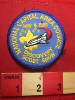 Vtg '89 DISCOVERY DAY National Capital Area Council BSA Space Shuttle Patch 77I2