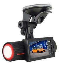 X2000 LCD Display Dual Camera G-sensor Vehicle Blackbox Car DVR GPS