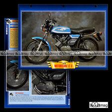 #111.02 Fiche Moto MOTOBECANE 125 LT 3 (LT3) 1976 70's Motorcycle Card