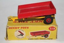 1960's Dinky #319 Weeks Farm Trailer with Original Box