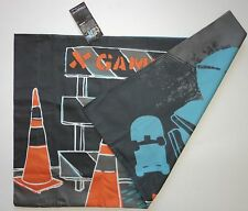 Rare ESPN X Games Pillow Case Extreme Skateboarding Skater Traffic Cones Urban