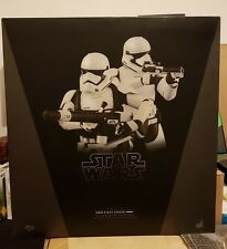 HOT TOYS MMS 319 FIRST ORDER STORMTROOPERS STAR WARS MISB 1/6 SCALE 12''