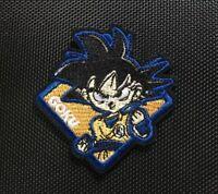 Dragon Ball Z Patch Photo brodé bordure DBZ Goku Mélange Vegeta Piccolo Trunks