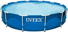 NEU Intex Frame Pool 305x76 Swimmingpool Aufstellpool mit Filter-Pumpe 26700NP