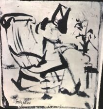 """Franz Kline """"Rocking Chair"""" Abstract Expressionism Painting 35mm Art Slide"""