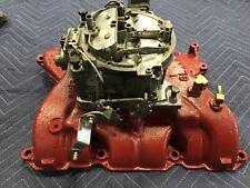 1966 Buick 401 425 Intake Manifold 1372113 and QuadraJet Carburetor