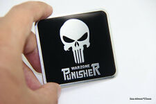 D749 Punisher Warzone auto aufkleber 3D Emblem Badge car Sticker Sensenmann