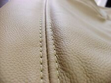 2002 - 2007 Ford F250 F350 Lariat Driver Bottom Seat Cover Parchment TAN / VINYL
