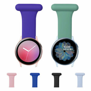 Silicone Band Watch Nurses & Doctors Strap PIN Bracelet For Samsung paramedics