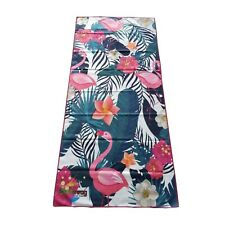 SomRswag Flamingo Microfiber Beach Towel Waterproof and Car Seat Cover-Sand Free