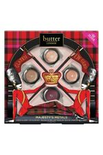 Butter London Majesty's Metals Glazen Eye Gloss SET AUTHENTIC 4Pc Eyeshadow