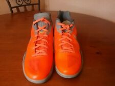 Nike zoom hyperdunk 2011 limited release orange metallic silver cool grey sz.14