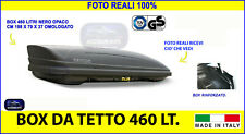 Box tetto auto Citroen Berlingo baule tetto litri nero universale kit chiavi