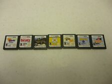 Nintendo DS Game Lot 7 Cooking Mama-Hannah Montana-Horsez-Build a Bear-NancyDrew
