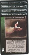 Temptation of Greater Power x5 CE Jyhad Lot C