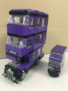 LOT HARRY POTTER LEGO 4695 MINI KNIGHT BUS + LEGO 4866 KNIGHT BUS