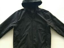 Men's black Primark hooded jackets size M, chest size 40-42in.