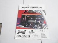 #MISC-2761 vintage CAR RACING PROGRAM - 1999 MADISON SPEEDWAY - LAC QUI PARLE