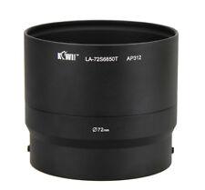 LA-72S6850T Adapter Tube for Fujifilm Finepix S6600, S6700,S6800,S6850,S4600