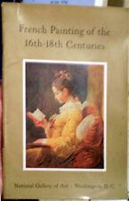 FRENCH PAINTING Boucher Poussin Bourdine Lorrain Watteau Baroque Rococo ART BOOK