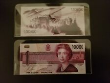 $1,000,000.00 Canadian Banknote Funny Money - Great Gag or Gift!