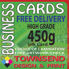 Business Cards, Double Sided,Single Sided,450gsm silk card, Lamination available