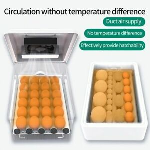 9/12 Egg Incubator Fully Automatic Chicken Duck Hatchery Temperature Control