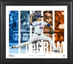"""Jacob deGrom New York Mets Framed 15"""" x 17"""" Player Panel Collage"""
