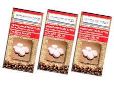 30 x limpieza para cafeteras automáticas Espresso tabletas
