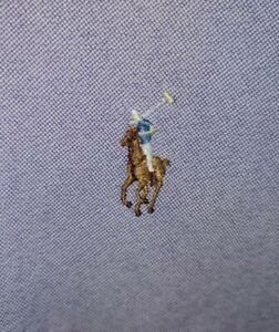 Polo Ralph Lauren XS (PP) Cotton Oxford Long Sleeve Shirt Coloured Pony Purple