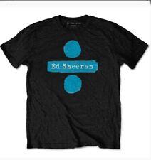Ed Sheeran Divide Men Bl T-shirt. Official Licensed Merchandise 2019