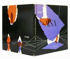 MID-20TH C VINT MASS SCHOOL OF ART BOSTON 1950 ANNUAL HARDCOVER COLLEGE YR BOOK