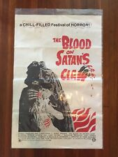 The Blood On Satan's Claw 1971 Original US Theatrical Movie Poster