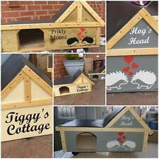 Hedgehog House. Personalised